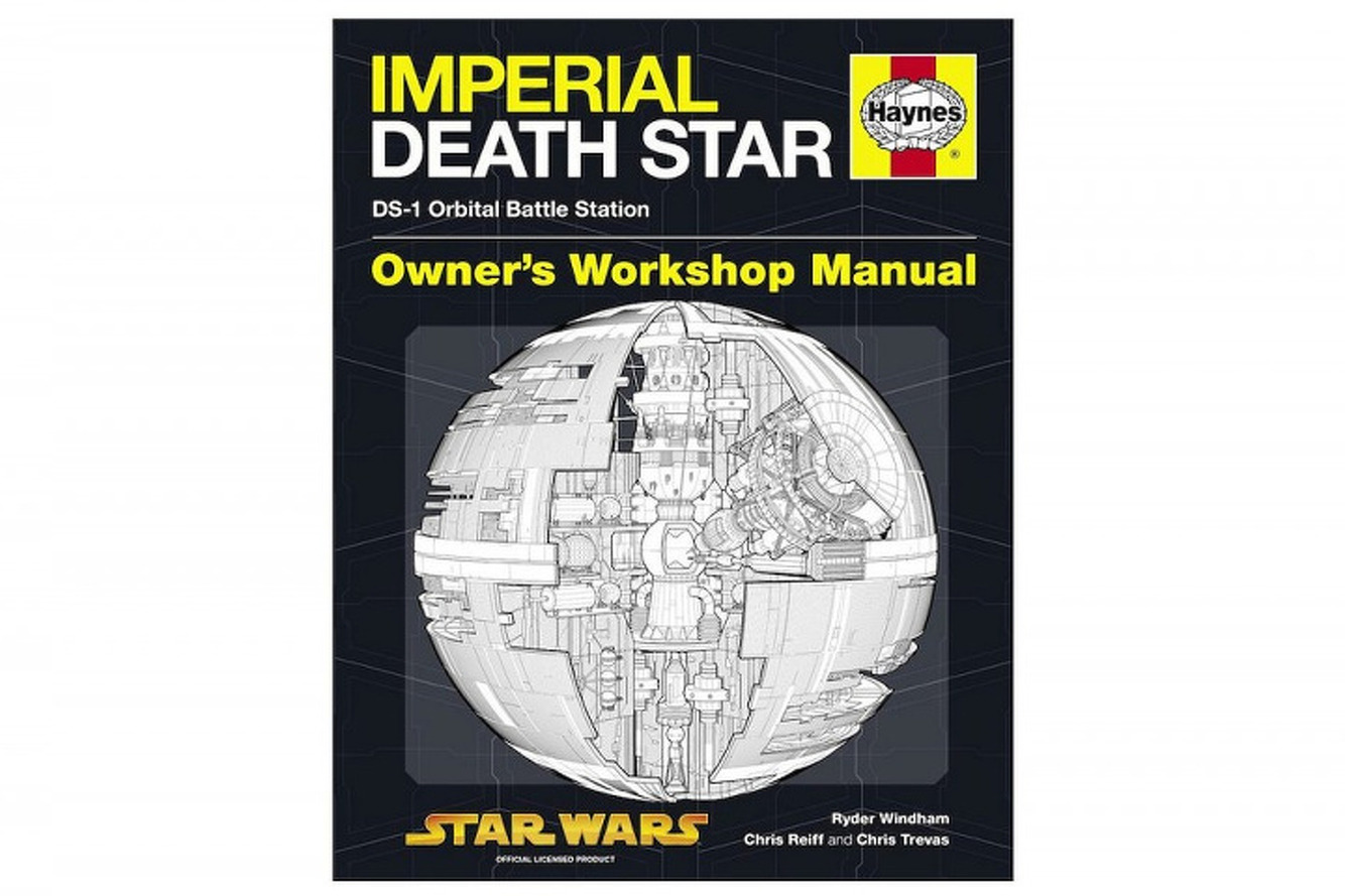 Haynes' Death Star Manual is the Ultimate Instructional Book in the Galaxy