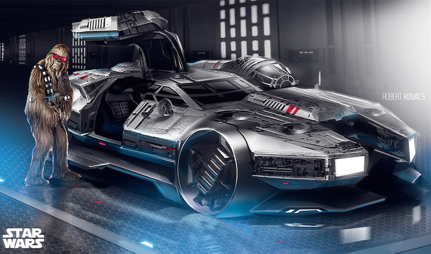 This Millennium Falcon Sports Car is What Chewbacca Drives on the Weekend