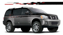 Nissan Rockn Frontier and Armada Street Concept at 2005 SEMA Show