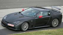 Lexus LF-H Supercar Spy Photo