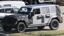 Jeep Wrangler Roof Spy Photos