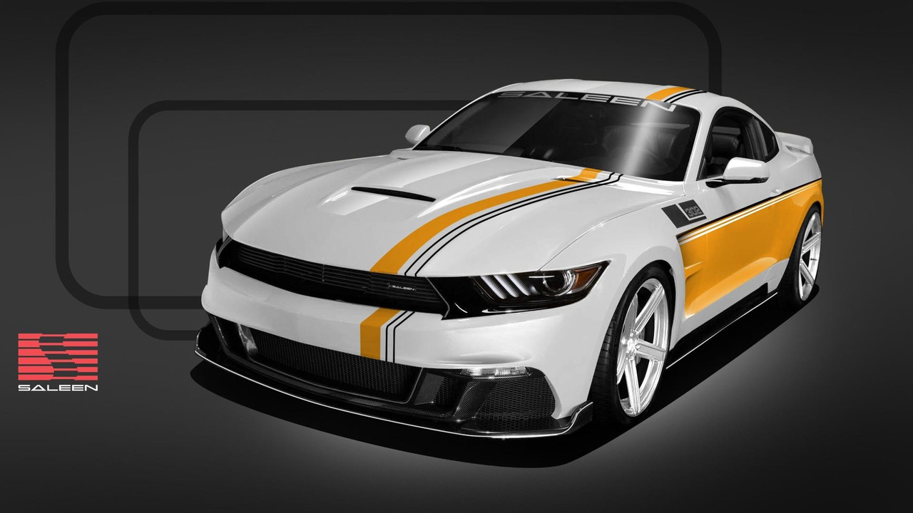 Saleen Mustang 30-Year Championship Commemorative Edition