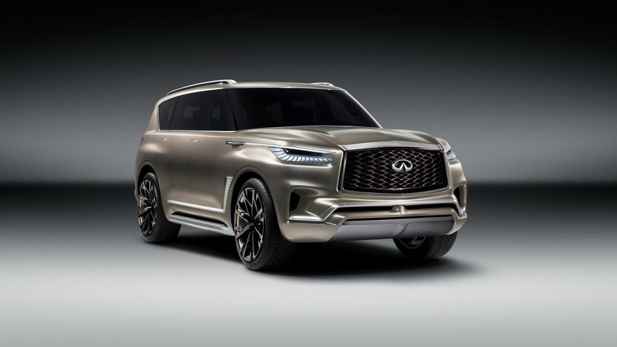 2018 Infiniti QX80 Will Get A New Look, Same Old Powertrain