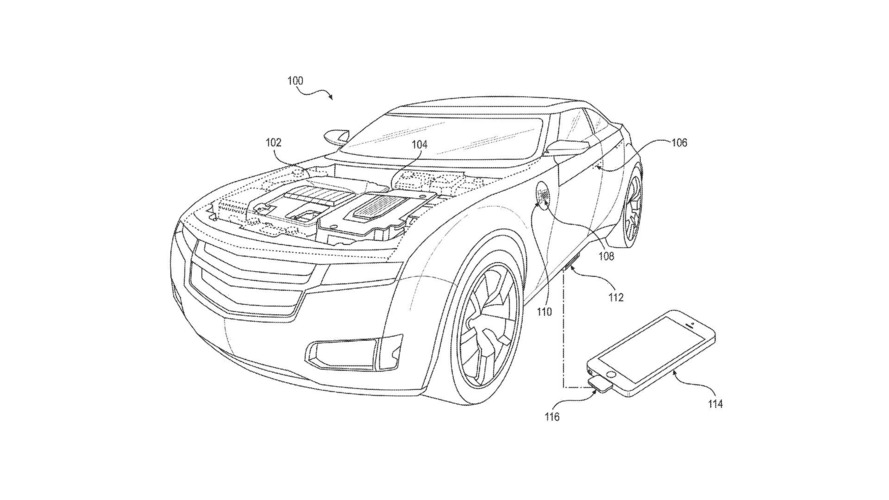 faraday future patents show deep  deep cell phone integration