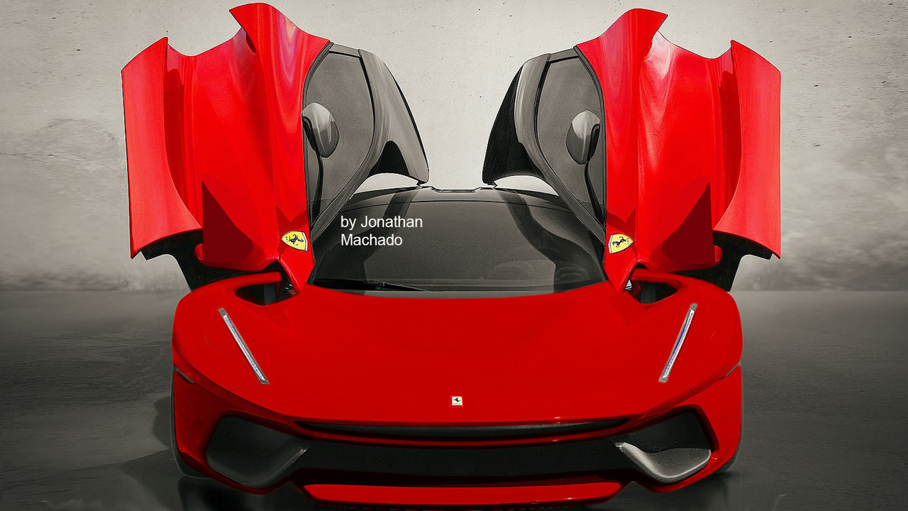 Possible LaFerrari one-off render