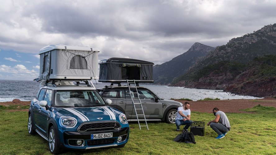 Mini Countryman tetősátor