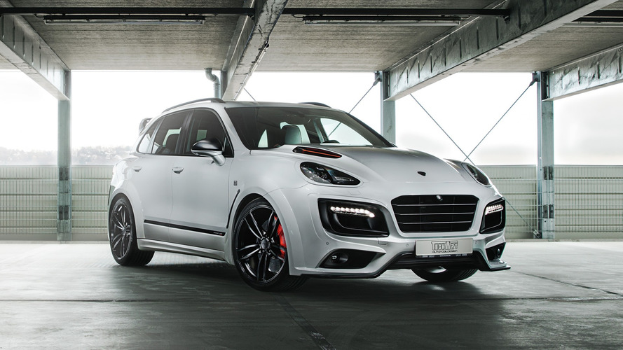 TechArt'dan 720 bg'lik Porsche Cayenne Turbo S