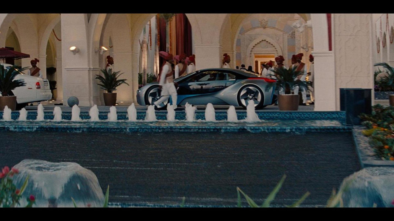 BMW Vision Efficient Dynamics Concept in Mission Impossible: Ghost Protocol - 30.6.2011