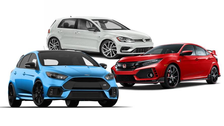 Which Hot Hatch Is Most Expensive: Golf R, Focus RS, Or Civic Type R?