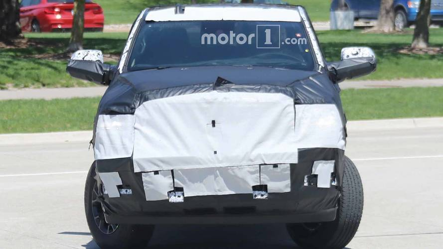 Ram 2500 HD Spy Shots