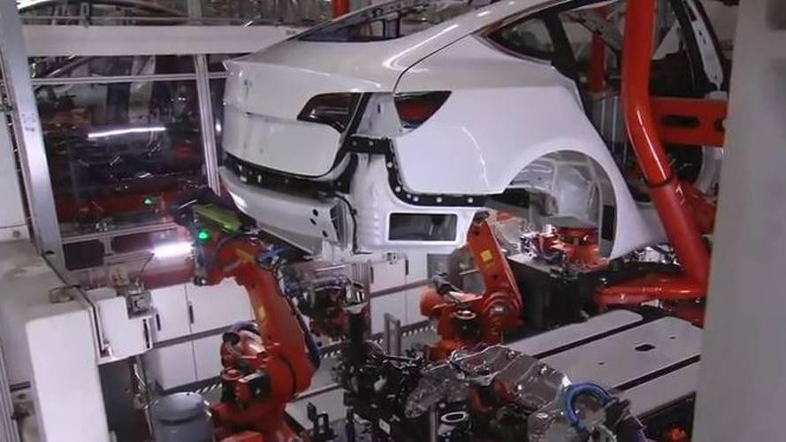 Planes Fly In Robots To Up Tesla Model 3 Production To 6,000/Week