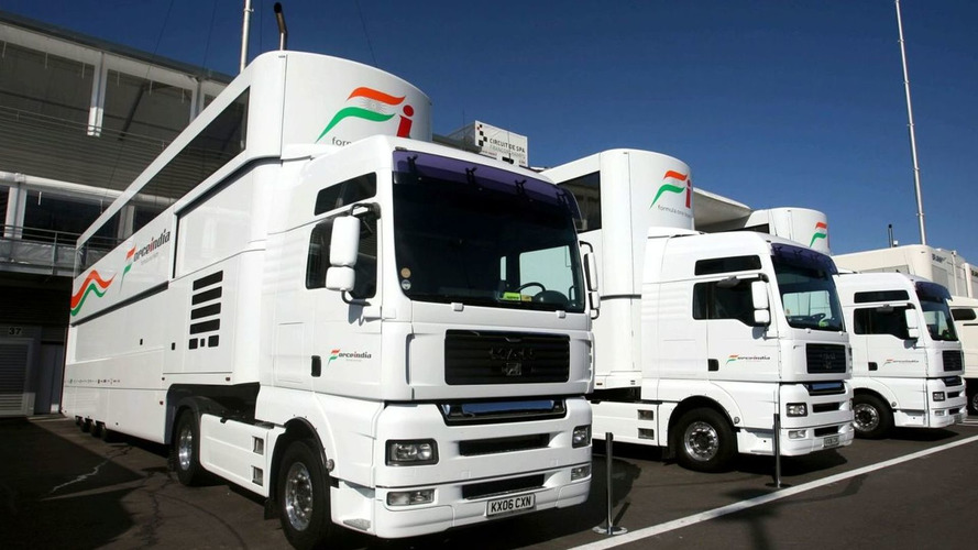 Force India motor home rumours 'ridiculous'