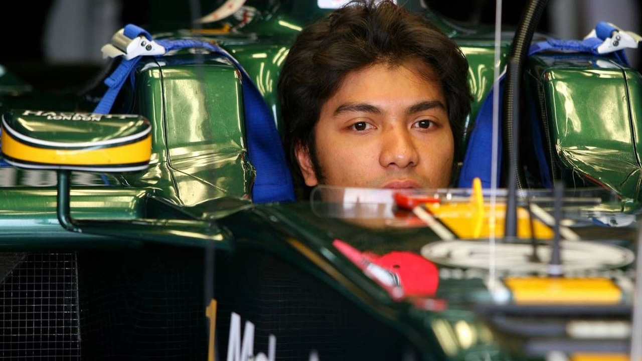 Fairuz Fauzy (MAL), Test Driver, Lotus F1 Team - Formula 1 Testing, 25.02.2010 Barcelona, Spain