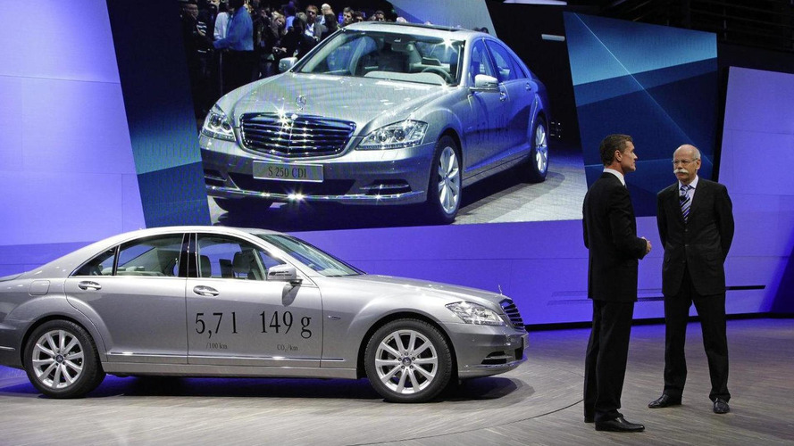 Mercedes-Benz S 250 CDI BlueEFFICIENCY is most efficient luxury car
