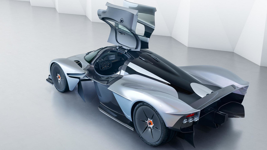 Aston Martin Valkyrie Shows Off Near-Production Body