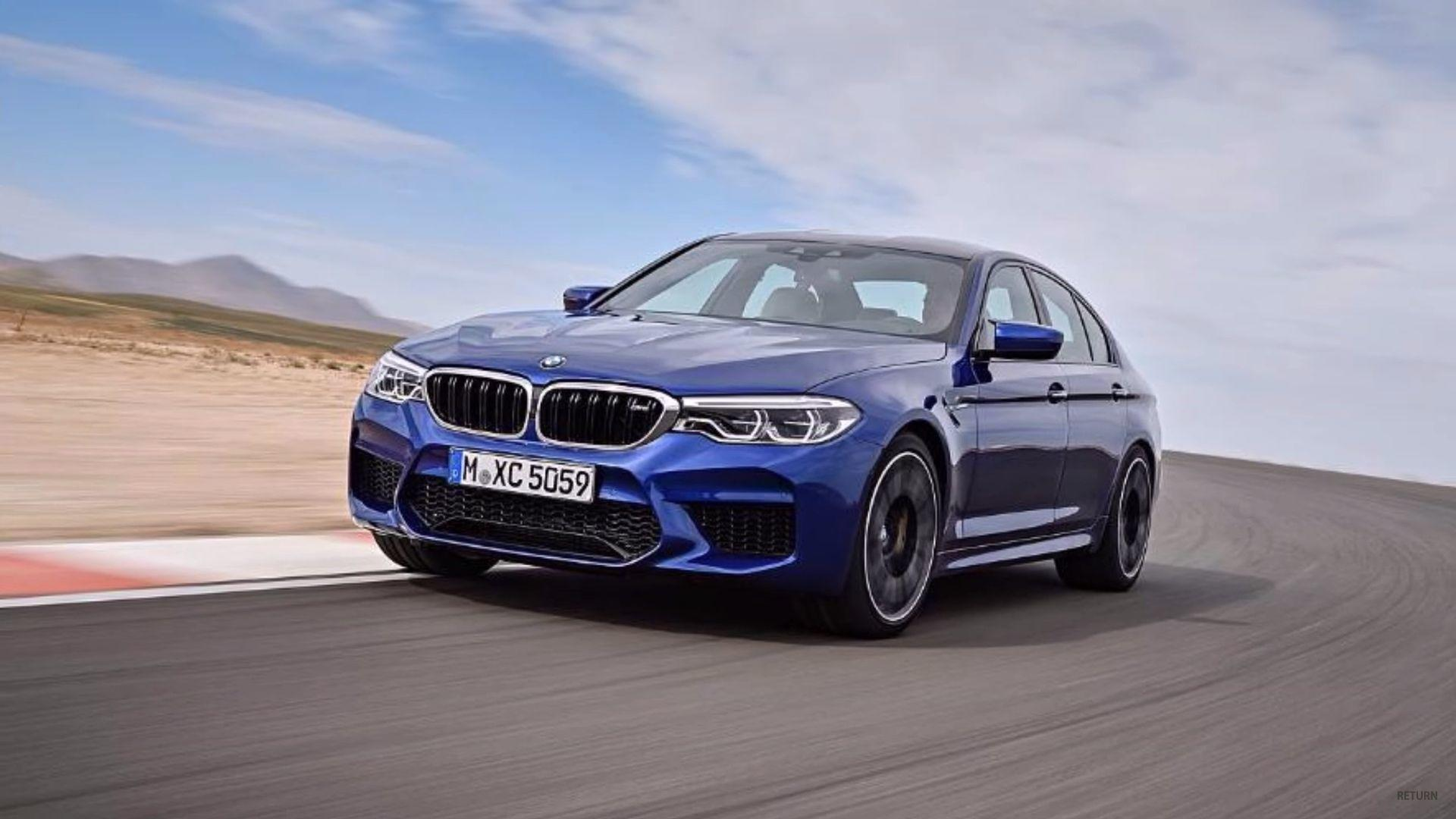 Bmw 320i 2016 >> 2018 BMW M5 Leaked Ahead Of Today's Reveal