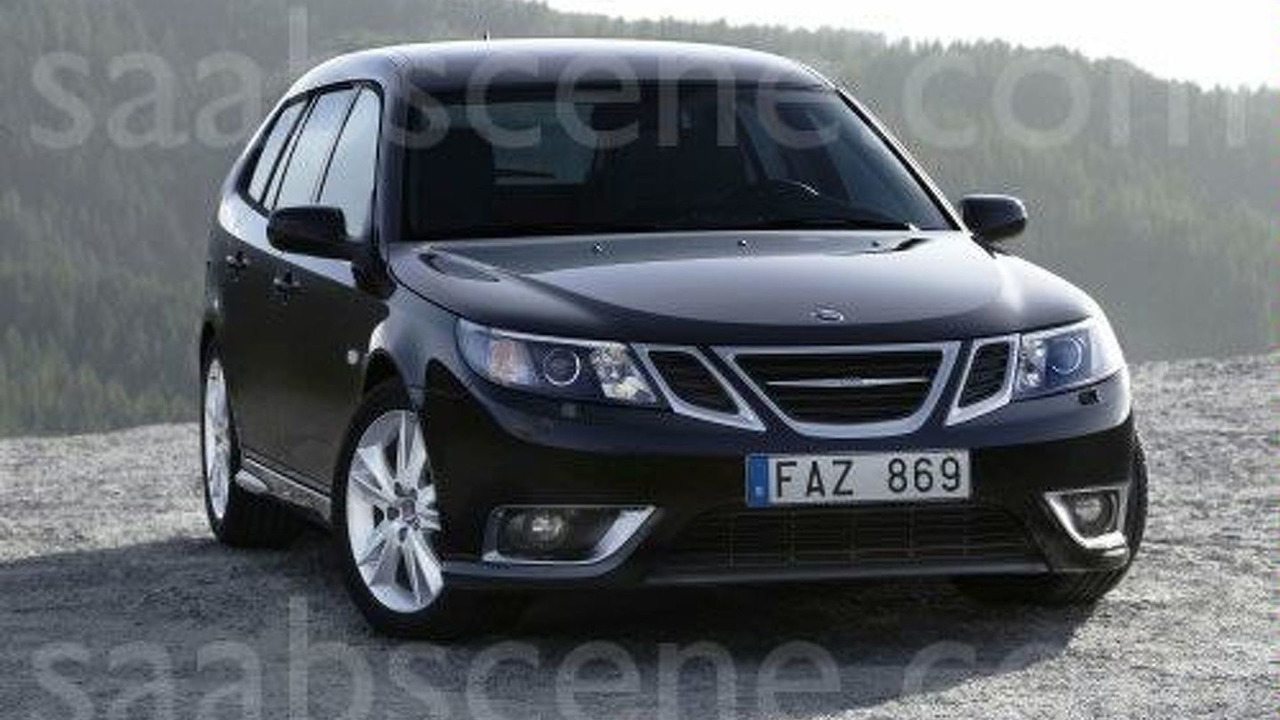 Saab 9-3 Facelift Official Pics Leaked