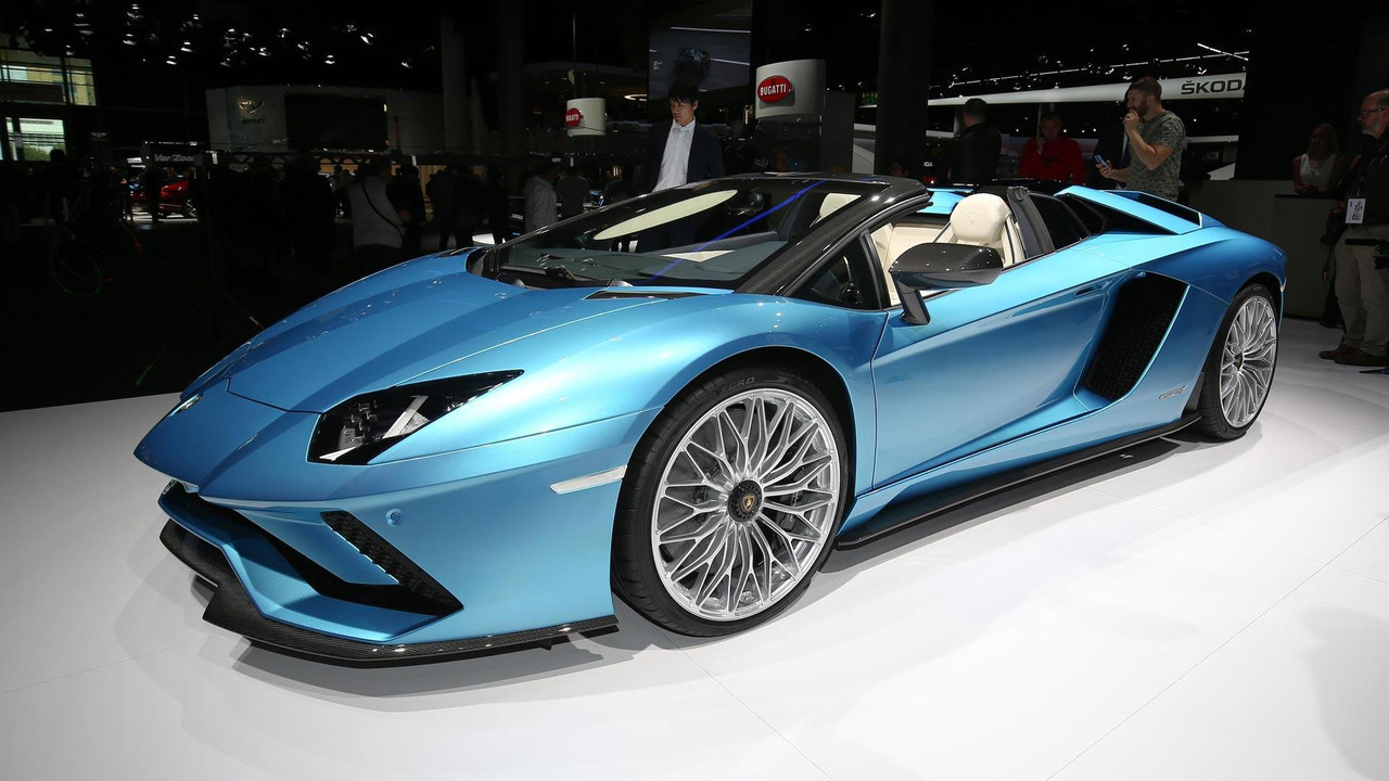 lamborghini new model 2018. interesting new 2018 lamborghini aventador s roadster throughout lamborghini new model