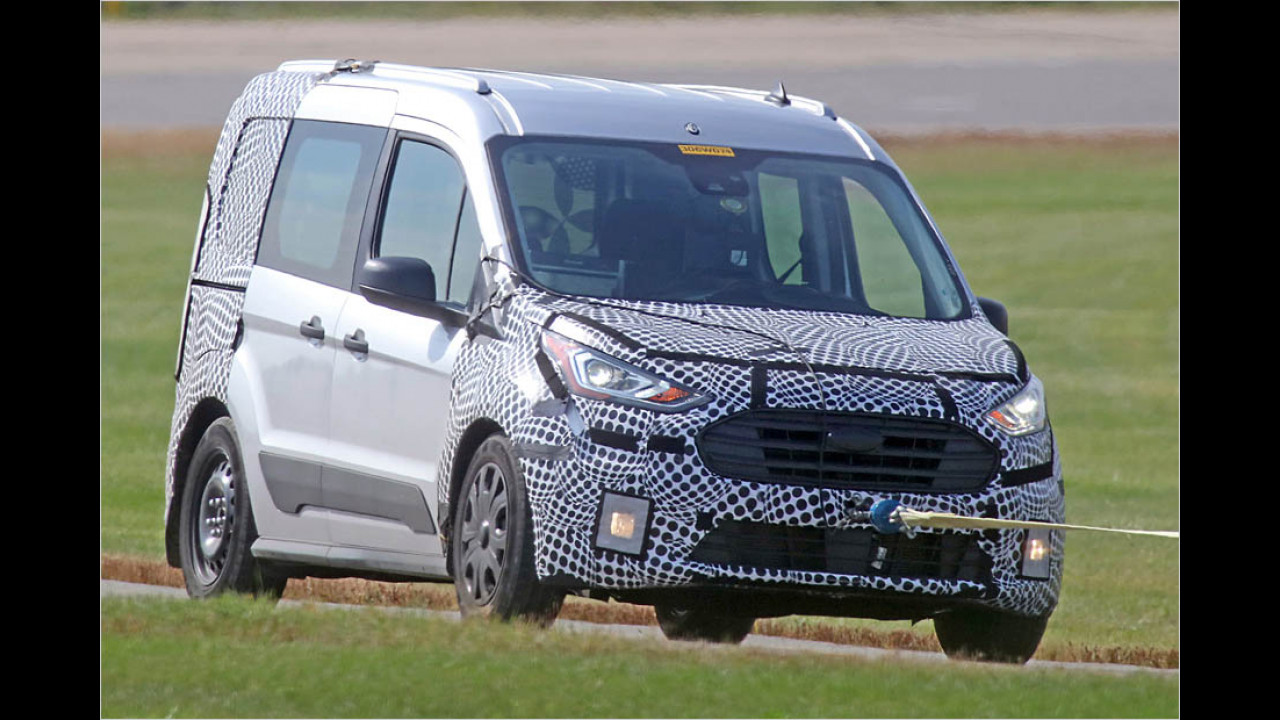Ford Transit Connect Facelift