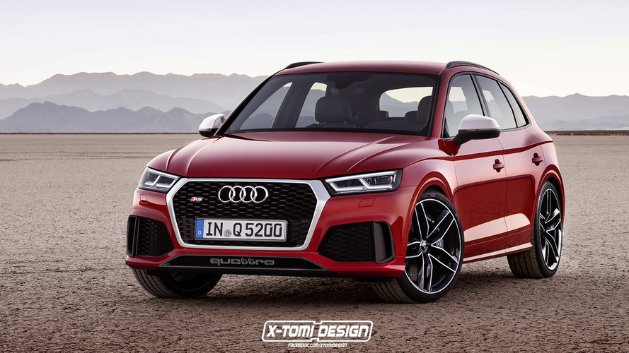 New Audi RS Q5 To Get Biturbo V6 Engine From RS5 Coupe?
