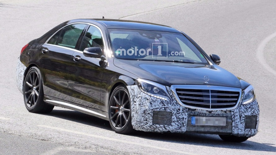 2018 Mercedes-AMG S63 and S-Class spied testing