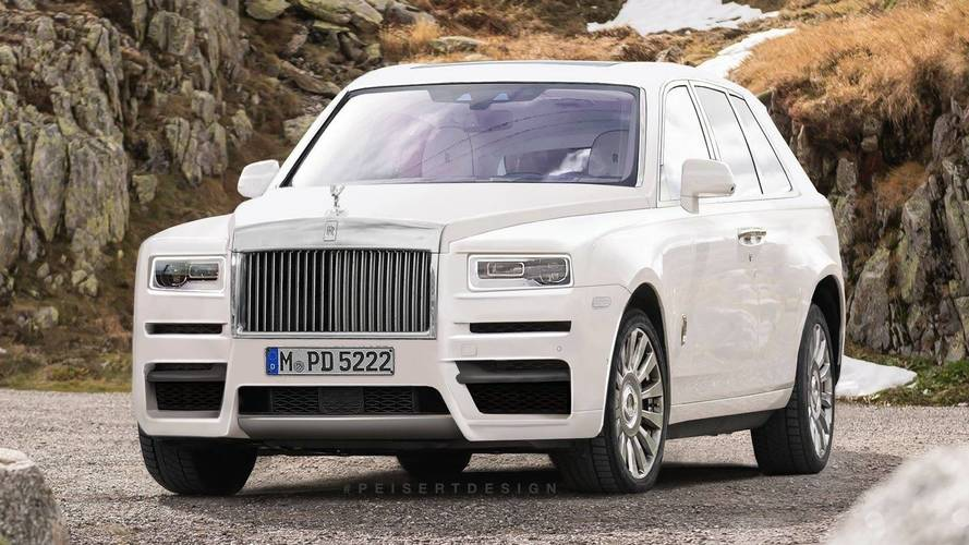 Rolls-Royce says SUV's Cullinan name is just a 'working title'