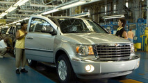 All New Chrysler Aspen Production Line