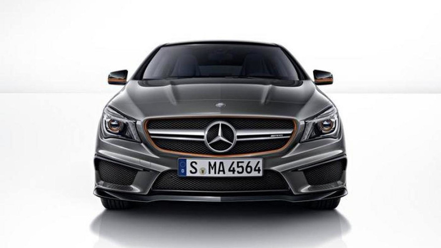 Mercedes-Benz CLA 45 AMG Shooting Brake OrangeArt Edition massive gallery released