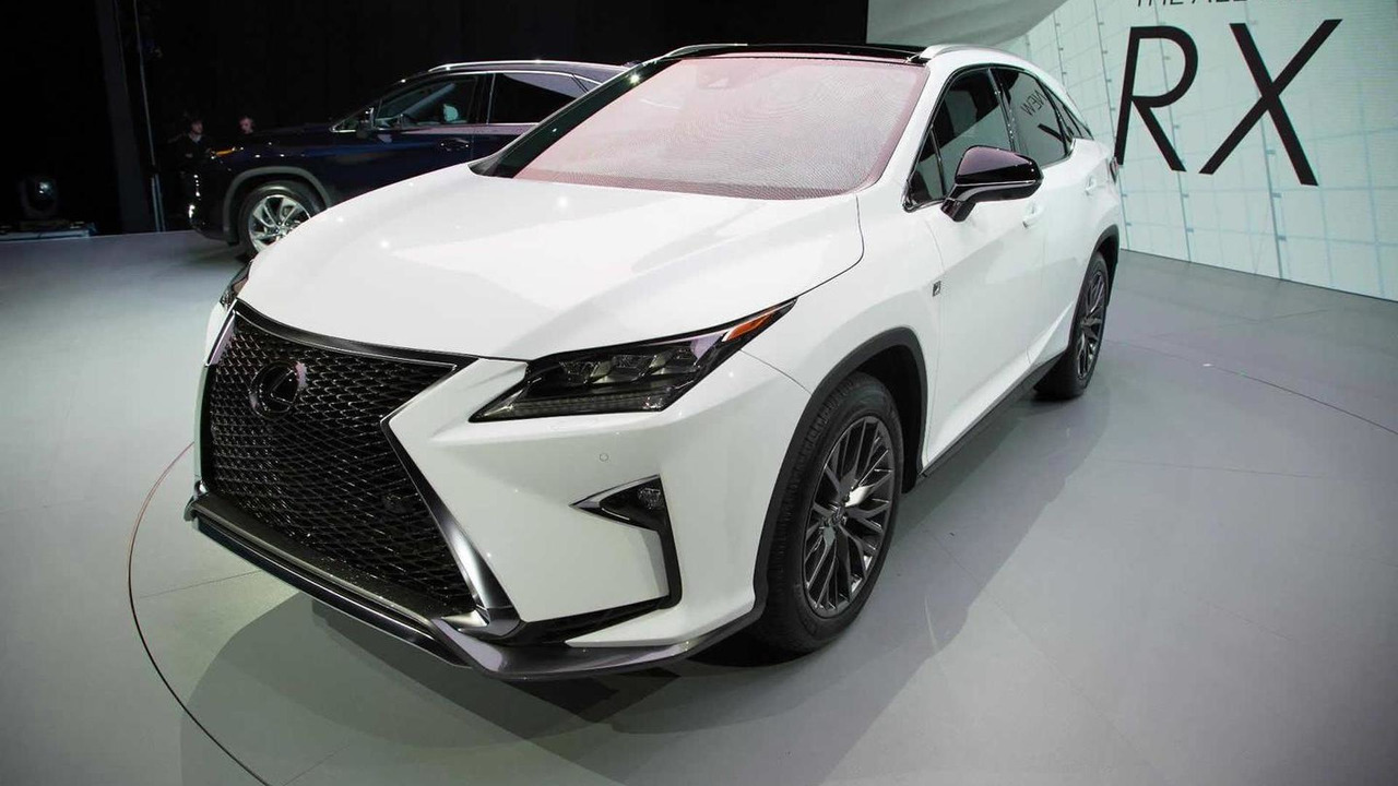 2016 Lexus RX at 2015 New York Auto Show