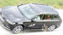 Offroad-course: Mario Götze in the Audi A6 allroad
