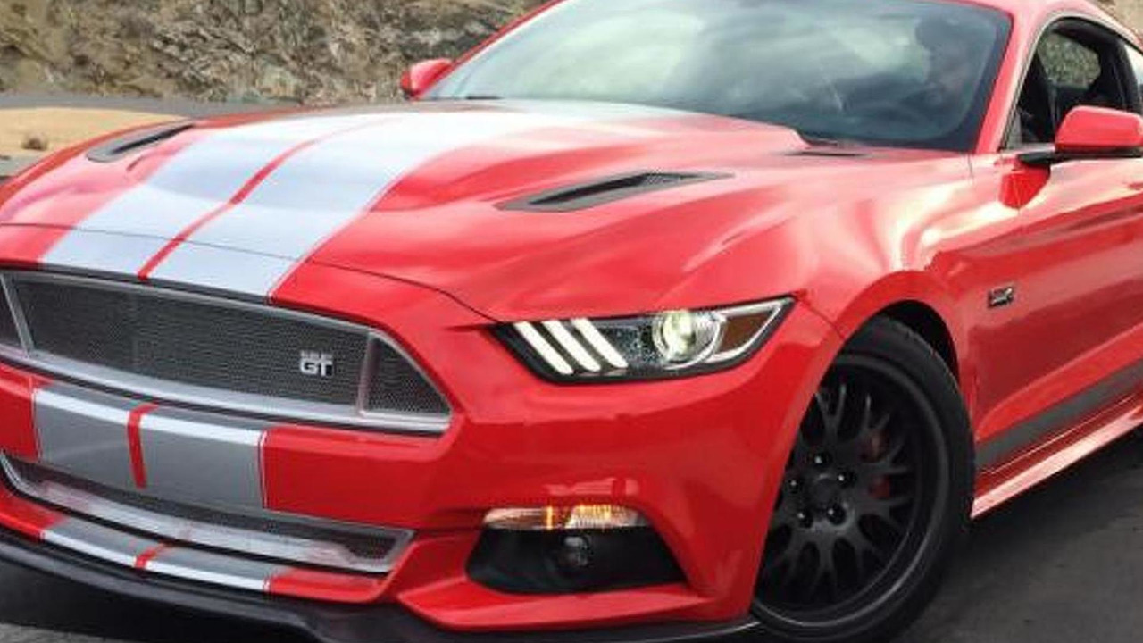 2015 Shelby GT spy photo / Road&Track