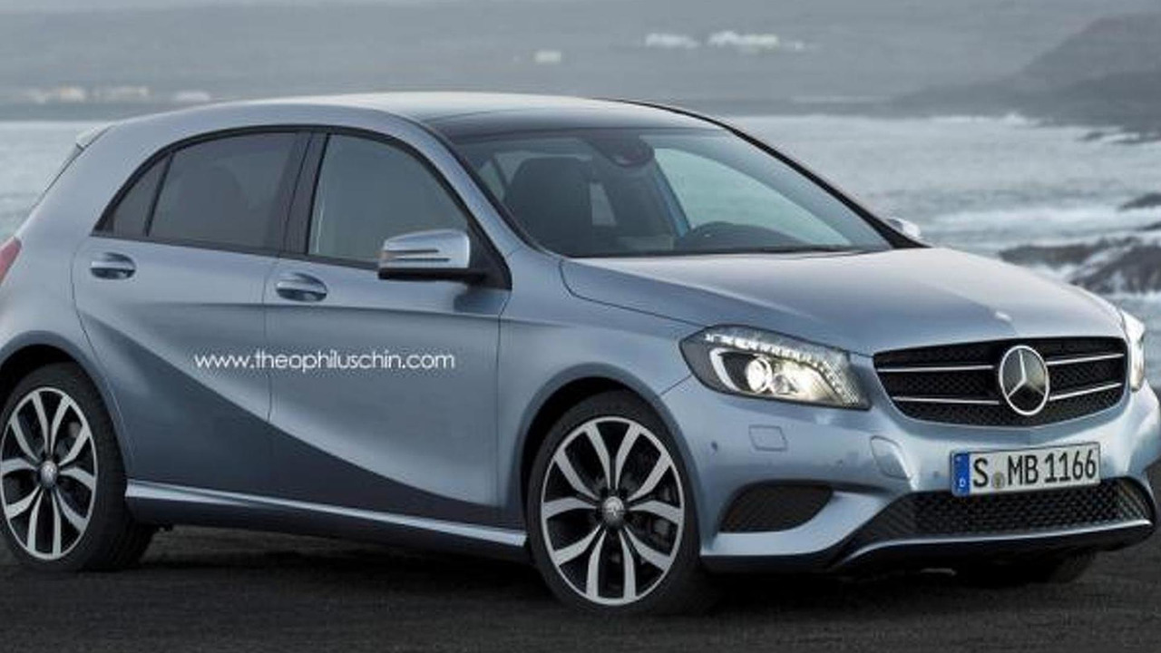 Mercedes-Benz MINI rival speculative render