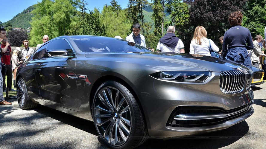 BMW Pininfarina Gran Lusso Coupe photographed in the metal at Concorso d'Eleganza Villa d'Este