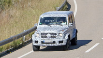 2019 Mercedes-AMG G63 spy photo