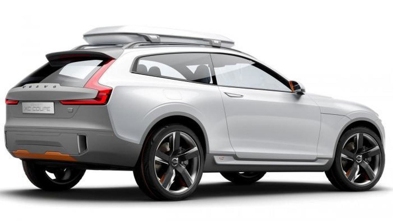 Volvo volvo coupe 2015 : Volvo shows off the Concept XC Coupe, previews the 2015 XC90