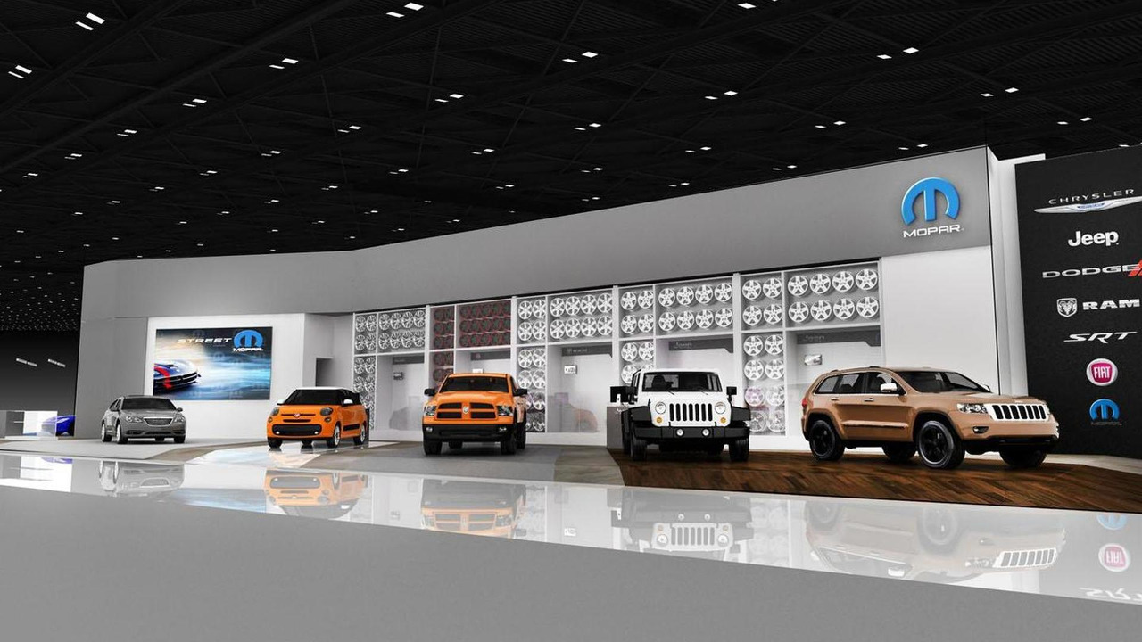 Mopar Custom Shop for NAIAS