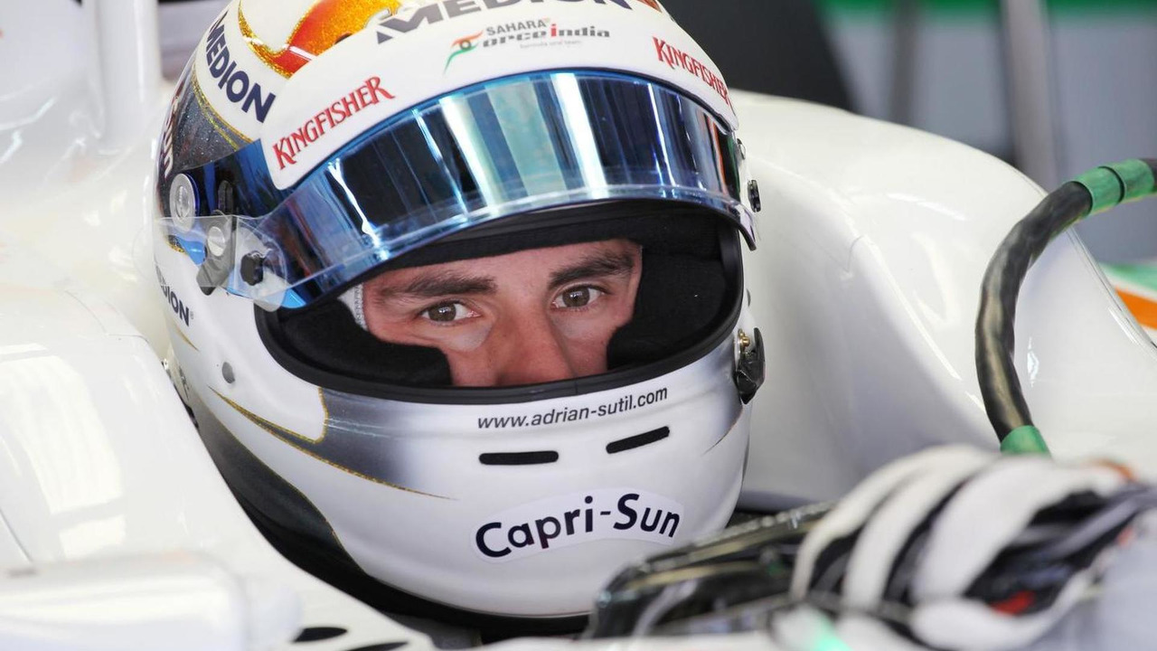 Adrian Sutil 05.10.2013 Korean Grand Prix