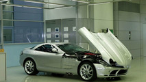 Production of the Mercedes-Benz SLR McLaren