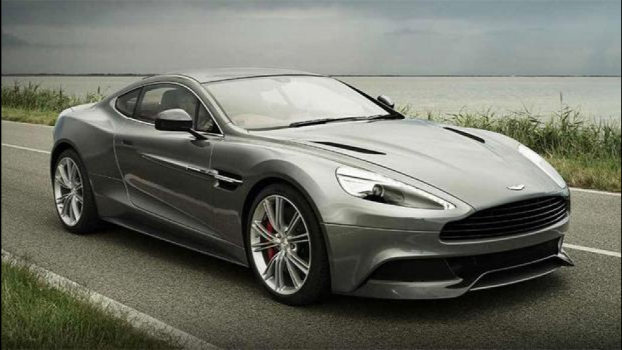 Aston Martin Vanquish, il sound del 12 cilindri in un video