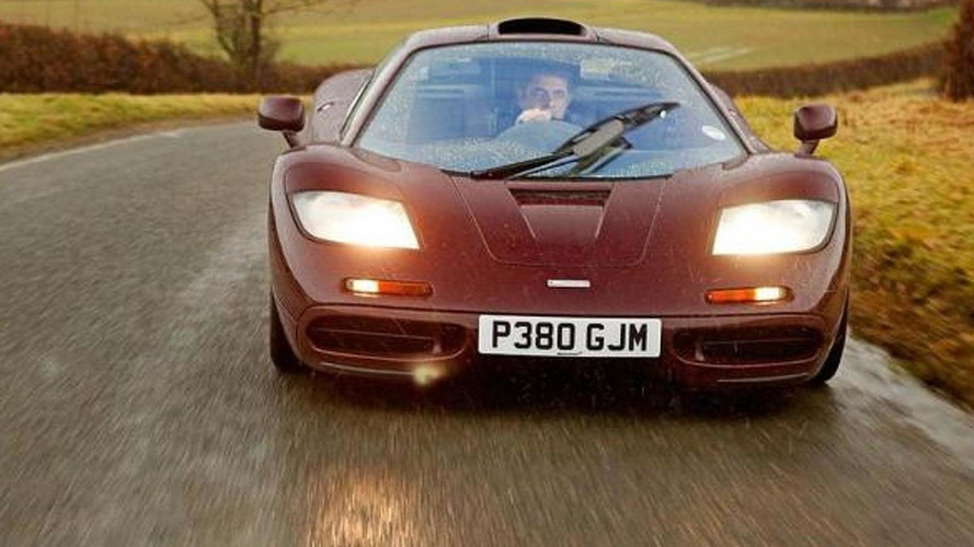 Rowan Atkinson sold his twice-crashed McLaren F1 for almost £8 million