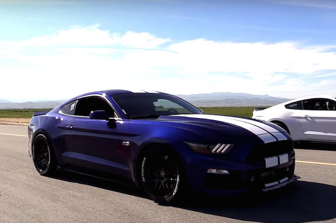 Mustang vs. Mustang: Can a Supercharged GT Outrun a Shelby GT350?