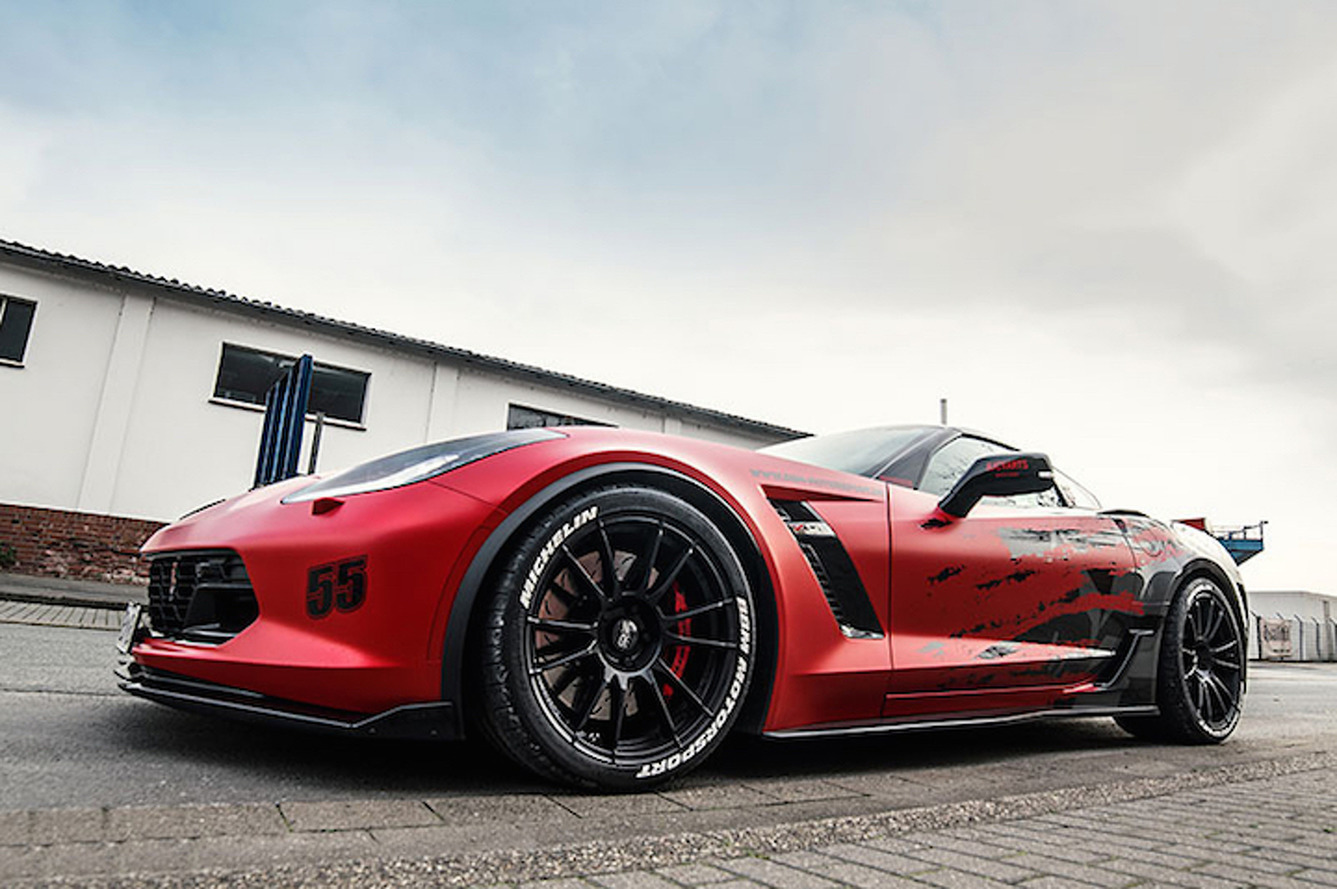 C7 Corvette Z06 By BBM Motorsport Cranks Up The Crazy