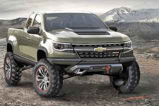 Chevrolet Needs to Make the Colorado ZR2 Concept a Reality