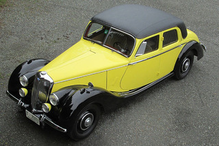 This 1950 Riley Has Rolls-Royce Good Looks and Everyday Charm