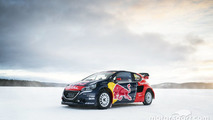 The car of Sebastien Loeb
