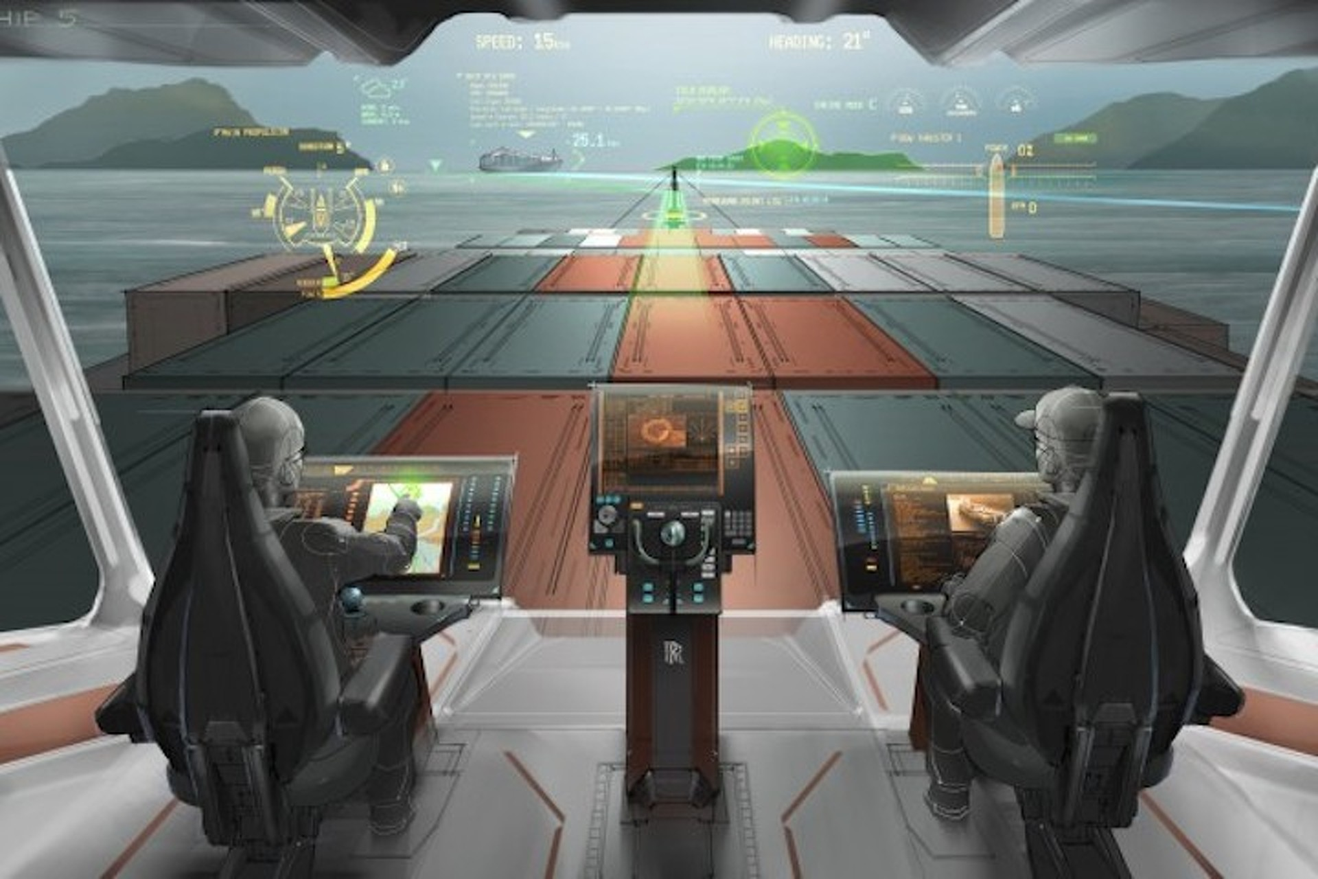 Cargo Ships of the Future Could Use Augmented Reality [W/Video]
