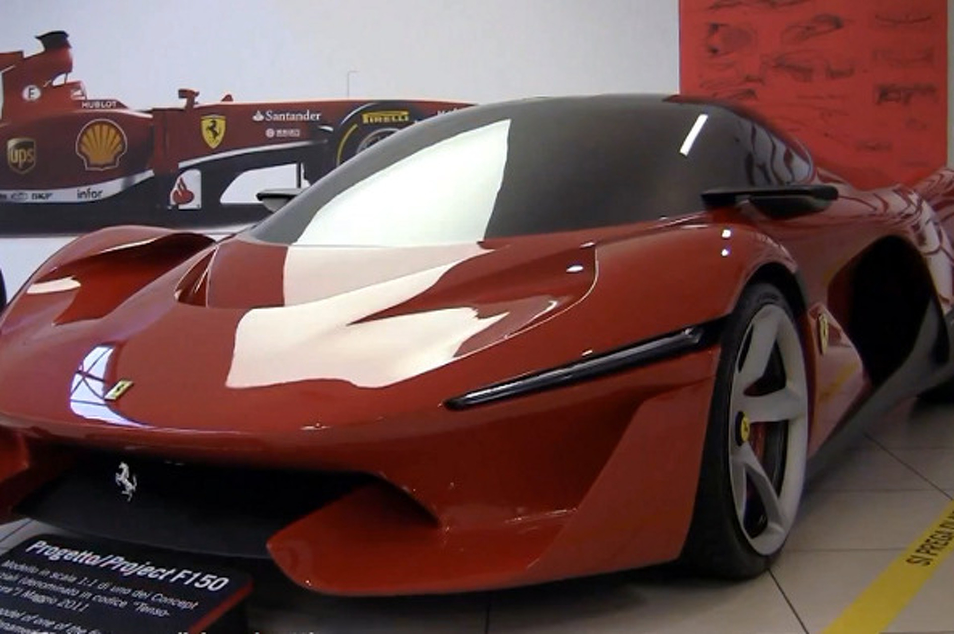 Ferrari Tensostruttura Is How LaFerrari Came to Be