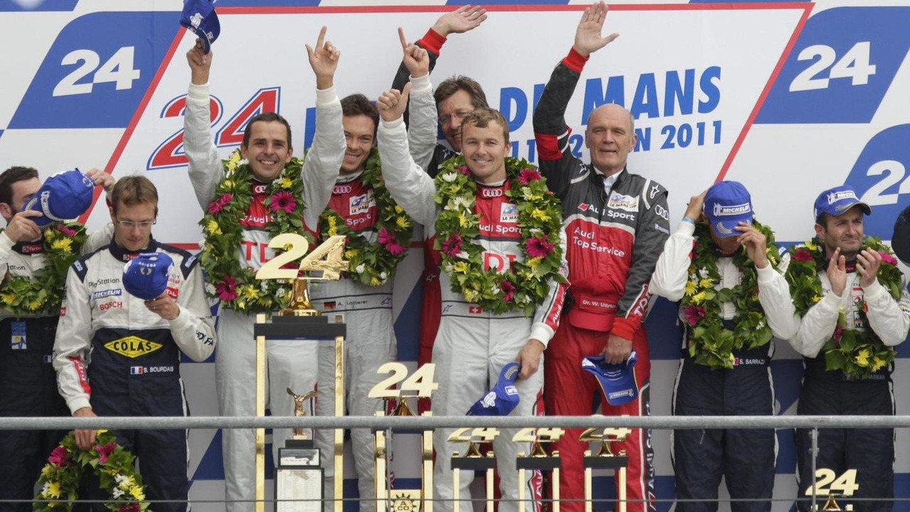 Audi wins Le Mans 2011 with R18 TDI