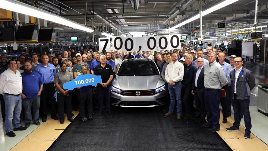 VW Builds 700,000th Passat At Chattanooga Plant