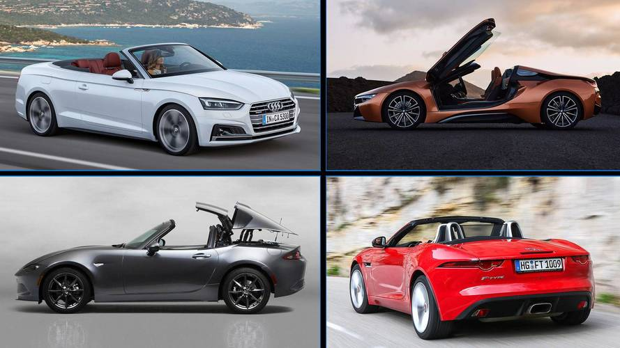 11 Convertibles That Are Quickest To Take Off Their Tops